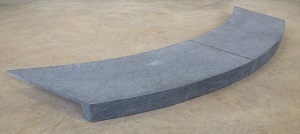 Curved Pool Coping Tiles