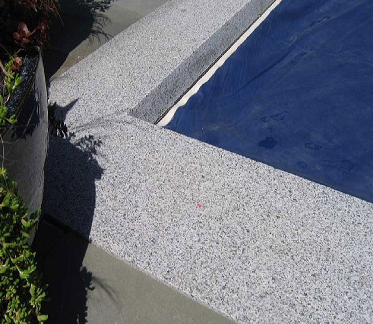 Dove Granite Pool Pavers, Granite Pool Coping