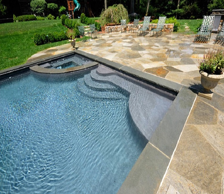 Bullnose Granite Pool Pavers