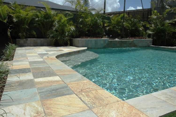 Quartz Pool Pavers