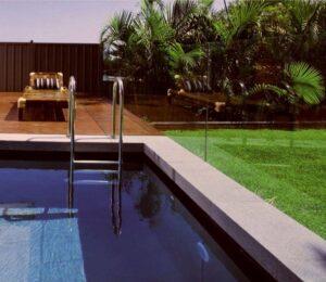 Raven Granite Pool Pavers