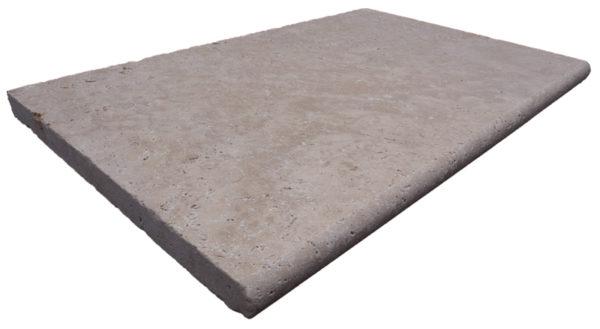 noce travertine bullnose coping tile