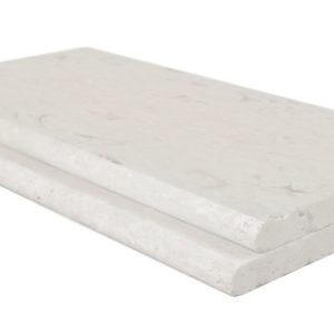 shell white limestone bullnose